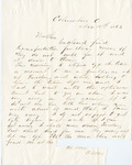 Letter, 1863 November 18, Oscar D. Ladley to Mother [Catherine Ladley]