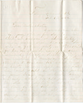 Letter, 1864 February 6, Oscar D. Ladley to Mother and Sisters [Catherine, Mary, and Alice Ladley] by Oscar D. Ladley