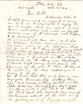 Letter, 1864 February 22, Oscar D. Ladley to Sister [Mary Ladley]