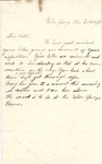 Letter, 1864 February 26, Ally [Alice Ladley] to Brother [Oscar D. Ladley] by Alice Ladley