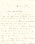 Letter, 1864 March 14, Oscar D. Ladley to Mother and Sisters [Catherine, Mary, and Alice Ladley]