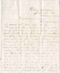 Letter, 1864 April 4, Oscar D. Ladley to Mother and Sisters [Catherine, Mary, and Alice Ladley] by Oscar D. Ladley