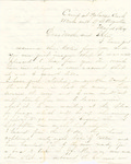Letter, 1864 May 18, Oscar D. Ladley to Mother and Sisters [Catherine, Mary, and Alice Ladley] by Oscar D. Ladley