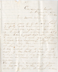 Letter, 1864 August 8, Oscar D. Ladley to Mother and Sisters [Catherine, Mary, and Alice Ladley]