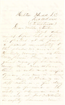 Letter, 1864 December 25, Oscar D. Ladley to Mother and Sisters [Catherine, Mary, and Alice Ladley]
