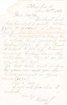 Letter, 1863 November 25, Oscar D. Ladley to Mother [Catherine Ladley] by Oscar D. Ladley