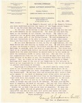 Letter, 1895, July 29, Carrie Chapman Catt to Dear friend [Martha McClellan Brown]