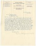 Letter, 1895, October 18, Carrie Chapman Catt to Mrs. M. McClellan Brown [Martha McClellan Brown] by Carrie Chapman Catt