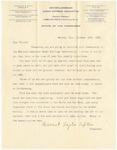 Letter, 1895, October 19, Harriet Taylor Upton to Dear Friend