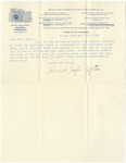 Letter, 1897, November 13, Harriet Taylor Upton to Martha McClellan Brown