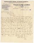 Letter, 1906, August 8, S.G. Taylor to Mrs. M. McClellan Brown [Martha McClellan Brown]
