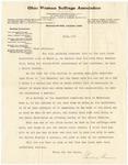Letter, 1910, July, Pauline Steinem to Dear Friend [Martha McClellan Brown]
