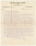 Letter, 1911, March 10, Pauline Steinem to Mrs. Martha McClellan Brown