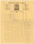 Letter, 1913, May 30, Harriet Taylor Upton to Martha McClellan Brown