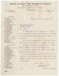 Letter, 1913, November 12, William Littleford to Martha McClellan Brown by William Littleford