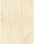 Letter, 1914, September 1, Harriet Taylor Upton to Dear President [Martha McClellan Brown]