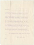 Letter, 1915, February 17, Harriet Taylor Upton to Dear Friend by Harriet Taylor Upton
