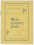 Constitution and By-Laws of the New Century Club