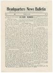 Headquarters News Bulletin: Vol.1, no. 12