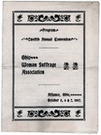 Program: Twelfth Annual Convention Ohio Woman Suffrage Association