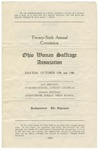 Twenty-Sixth Annual Convention. Ohio Woman Suffrage Association