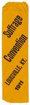 Suffrage Convention Ribbon