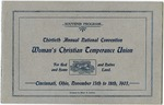 Thirteenth Annual Convention of the National Women's Christian Temperance Union Souvenir Program