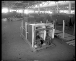 Aircraft parts being prepared for shipment at the Dayton-Wright Airplane Company by The Dayton-Wright Airplane Company