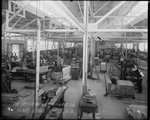 Employees working in the Dayton-Wright Airplane Company Mill in Plant 1, July 10, 1918