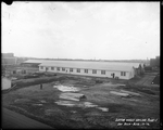 Exterior view of Plant 1 Dry Kiln, Dayton-Wright Airplane Company April 18, 1918