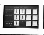 Fuselage Score Board, Dayton-Wright Airplane Company November 4, 1918