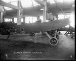 De Havilland DH-4 fuselage in Dayton-Wright Airplane Company factory