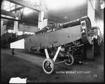 De Havilland DH-4 fuselage at the Dayton-Wright Airplane Company
