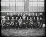Group photograph of the Dayton-Wright Airplane Company Administration