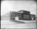 Exterior view of a building at the Dayton-Wright Airplane Company Plant 1