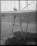 Flare dispenser and navigation lights on a De Havilland DH-4 at the Dayton-Wright Airplane Company South Field April 15, 1918