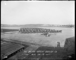 Completed De Havilland DH-4s at the Dayton-Wright Airplane Company August 24, 1918