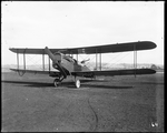 De Havilland DH-4 with military weapons and equipment at the Dayton-Wright Airplane Company