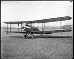 De Havilland DH-4 with military equipment and weapons at the Dayton-Wright Airplane Company