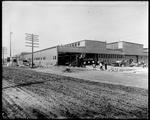 Construction work being done at the Dayton-Wright Airplane Company Plant 1