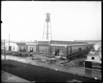 Exterior view of construction at Plant 1 of the Dayton-Wright Airplane Company