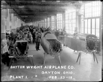 Construction of the De Havilland DH-4 Fuselage at the Dayton-Wright Airplane Company Plant 1, February 23, 1918