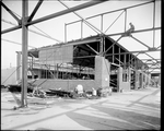 Construction of a Dayton-Wright Airplane Company factory