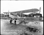 De Havilland DH-4 with a Nordyke Marmon motor at the Dayton-Wright Airplane Company July 16, 1918