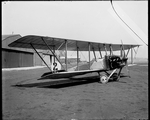 The Dayton-Wright Bull Head Biplane at the Dayton-Wright Airplane Company