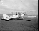 The modified De Havilland DH-4 named the Dayton-Wright Honeymoon Express at the Dayton-Wright Airplane Company