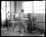 Employees of the Dayton-Wright Airplane Company welding aircraft parts in Plant 3