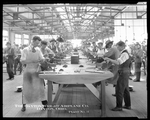 Dayton-Wright Airplane Company employees manufacture metal parts for aircraft production at Plant 3 by The Dayton-Wright Airplane Company