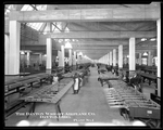 Manufacturing of aircraft wing skeletons at the Dayton-Wright Airplane Company Plant 1
