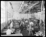 Dayton-Wright Airplane Company employees manufacture aircraft parts by The Dayton-Wright Airplane Company